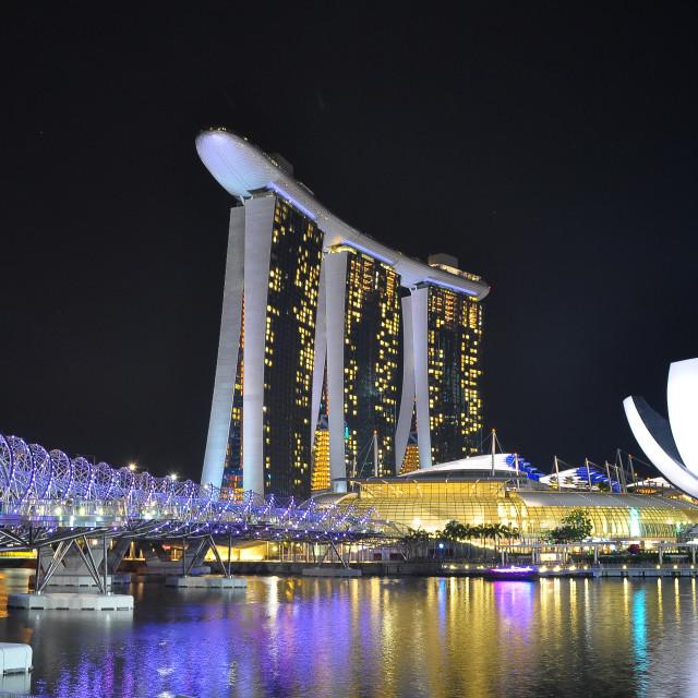 """""""Wonderful World - Singapore"""" stock image"""