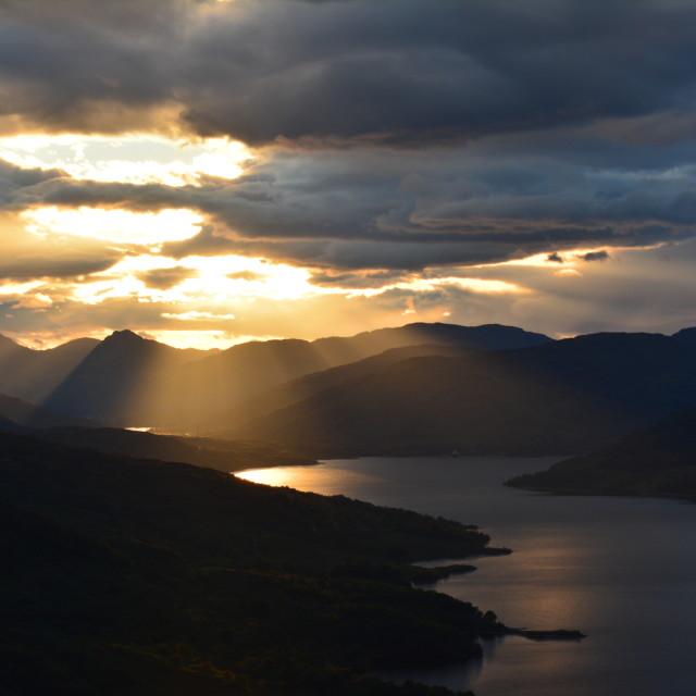 """Mountain Landscape"" stock image"