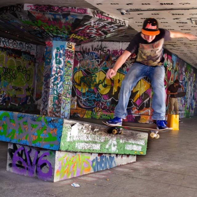 """""""Skate boarder"""" stock image"""