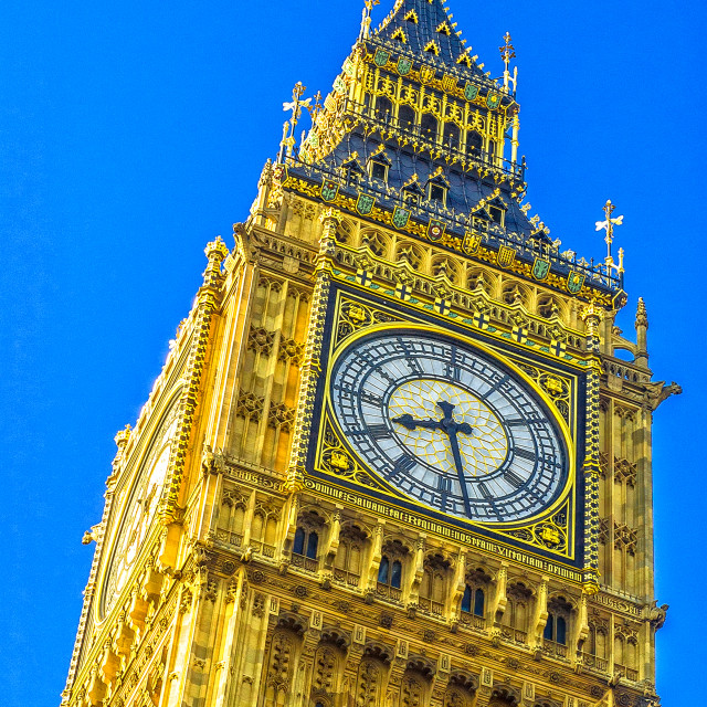 """""""Big Ben in the Morning"""" stock image"""