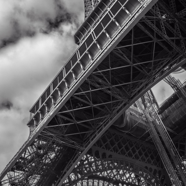 """""""The Eiffel Tower"""" stock image"""