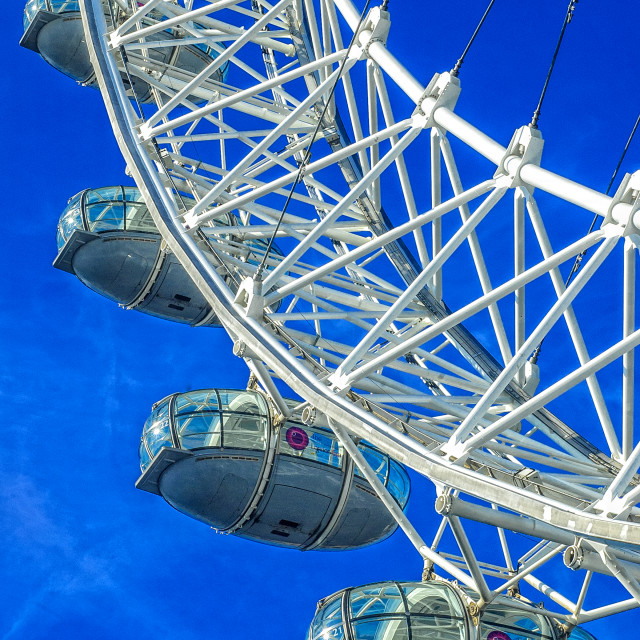 """The London Eye"" stock image"