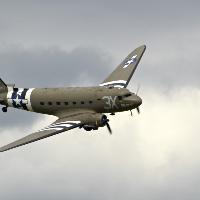 """Dakota (DC3)"" stock image"