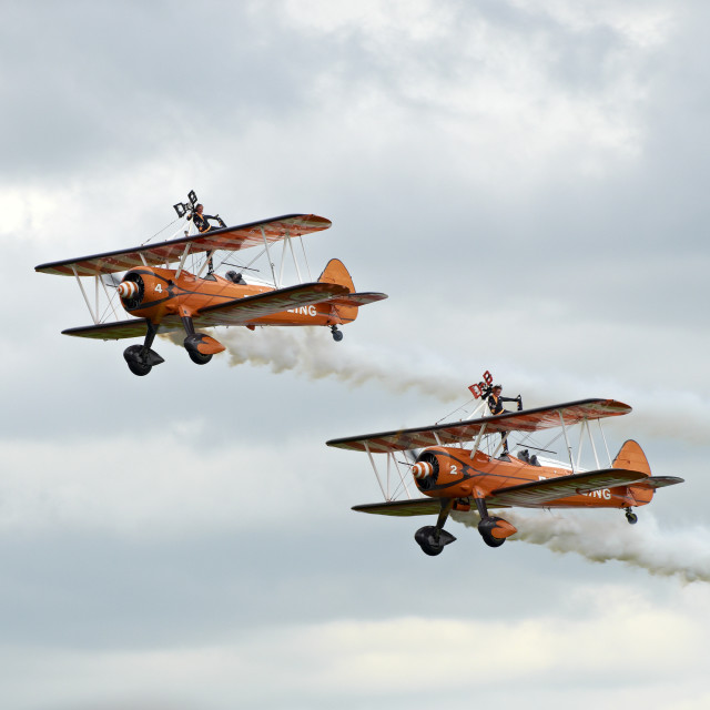 """Wingwalkers"" stock image"