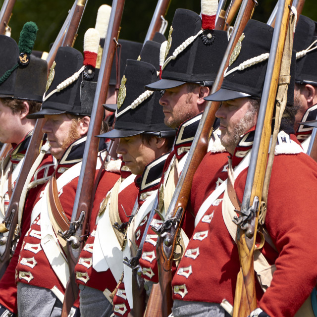 """Redcoats"" stock image"