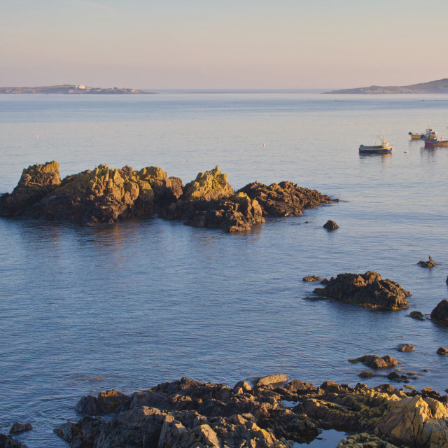 """Rocquaine Bay"" stock image"