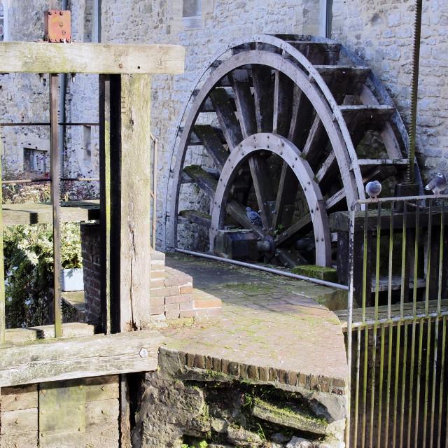 """Water wheel"" stock image"