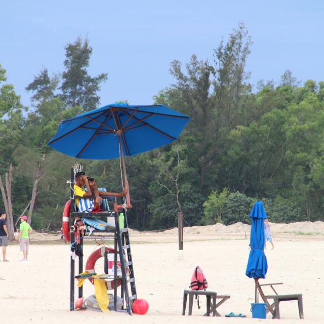 """""""Lifeguard"""" stock image"""
