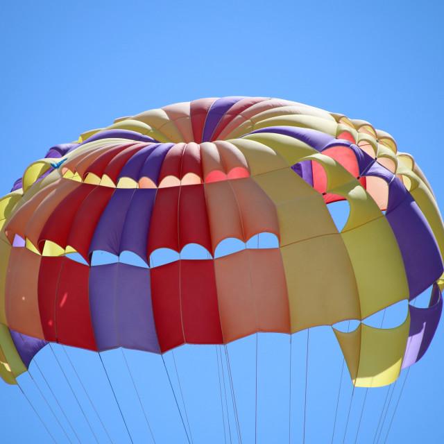 """Parachute"" stock image"