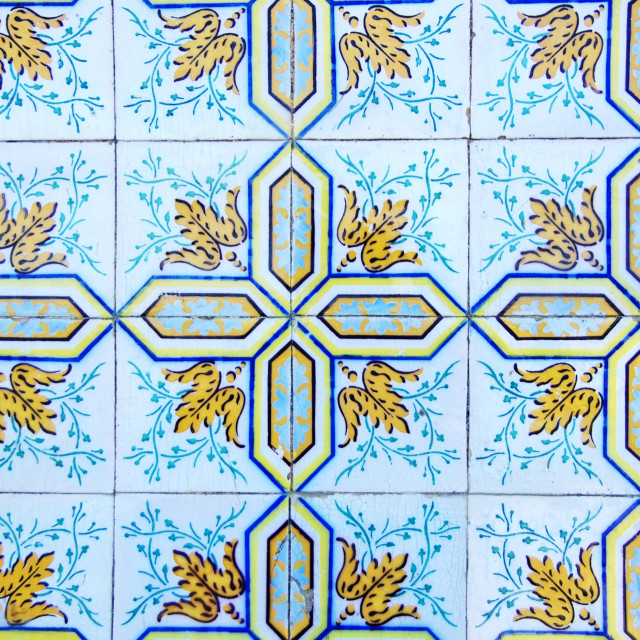"""""""Background of Portuguese tiles"""" stock image"""