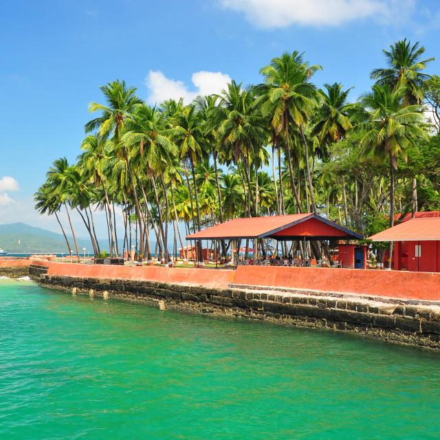 """""""Andaman - Andaman & Nicobar Islands, India"""" stock image"""