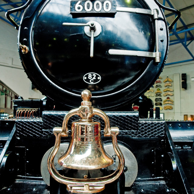 """""""Engine's Bell"""" stock image"""