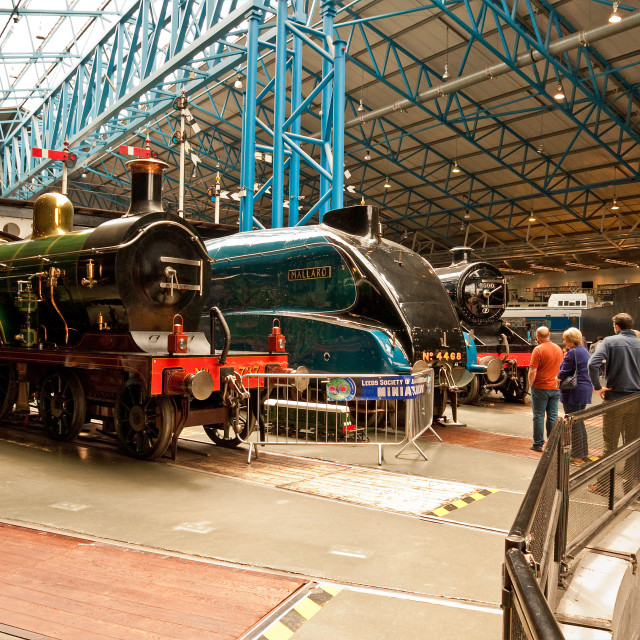 """""""Great Hall Engines"""" stock image"""