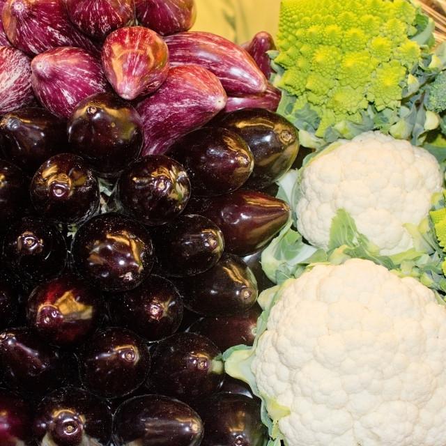 """Vegetables in market"" stock image"