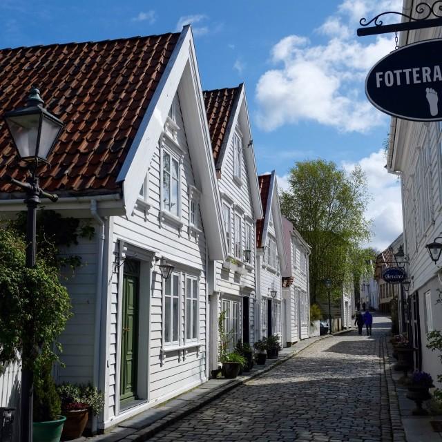 """""""Picturesque Stavanger,Norway"""" stock image"""