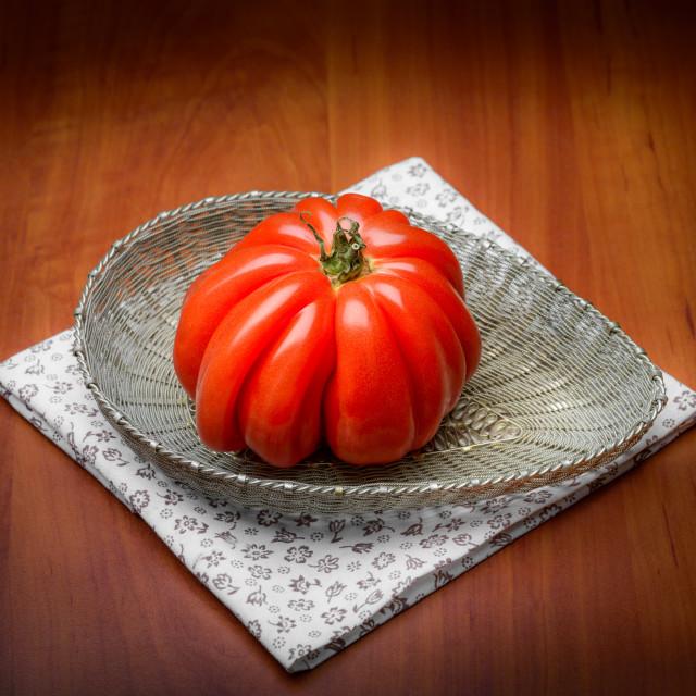 """Beef Heart Tomato"" stock image"
