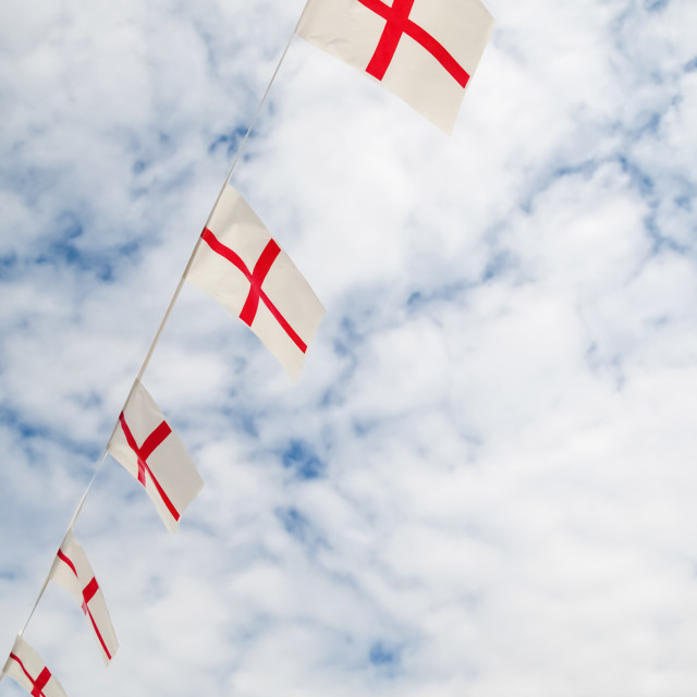 """english flag bunting"" stock image"