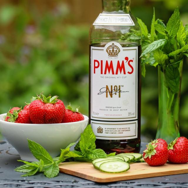 """Pimm's"" stock image"