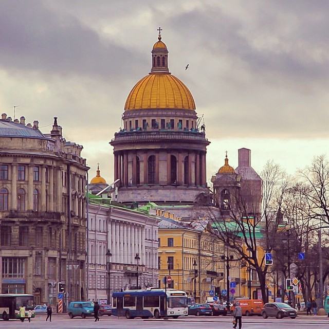 """""""St. Isaac's Cathedral.St.Petersburg, Russia"""" stock image"""