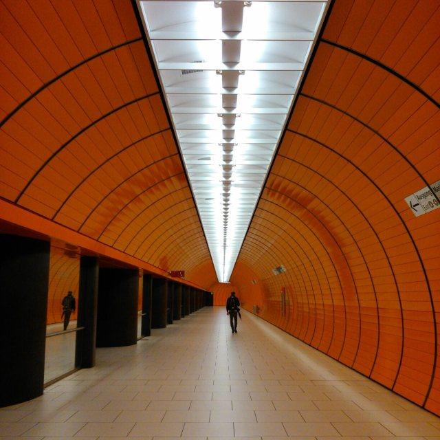 """""""Munich Underground"""" stock image"""