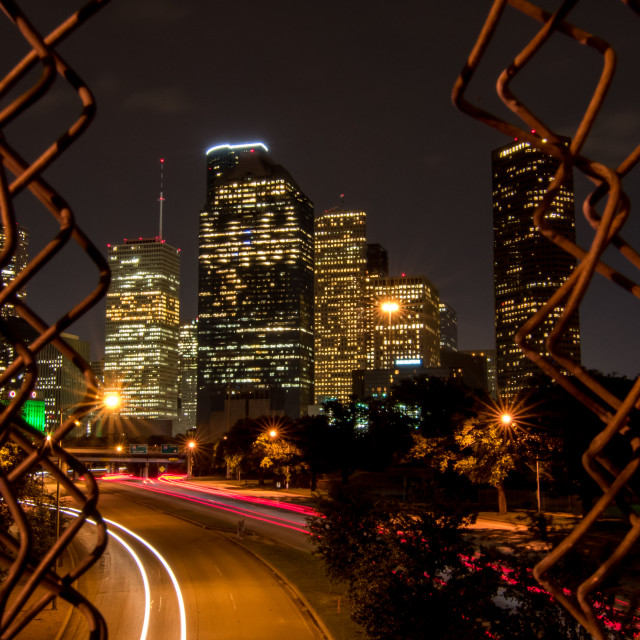 """Downtown Houston - Texas"" stock image"