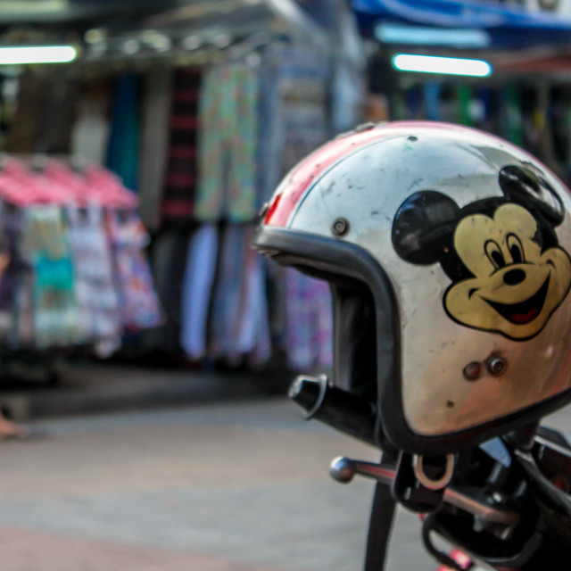 """Mickey Mouse Helmet"" stock image"