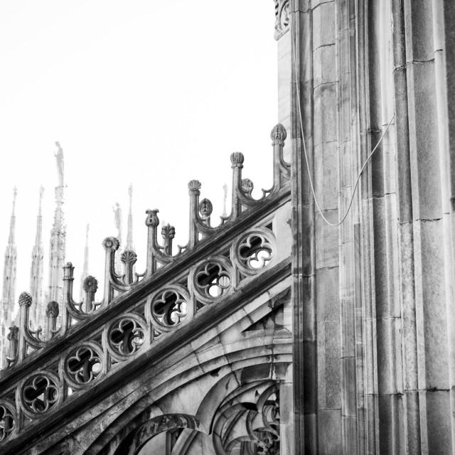 """Duomo di Milano"" stock image"