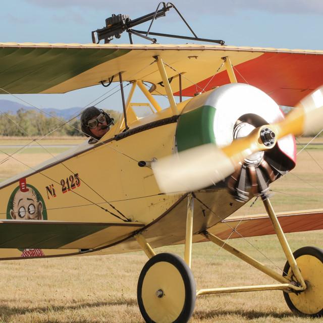 """Nieuport 11"" stock image"