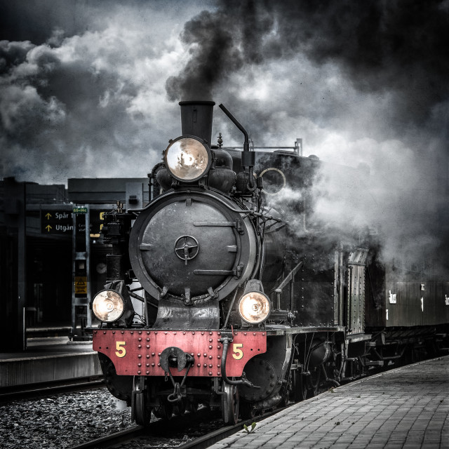 """Locomotive"" stock image"