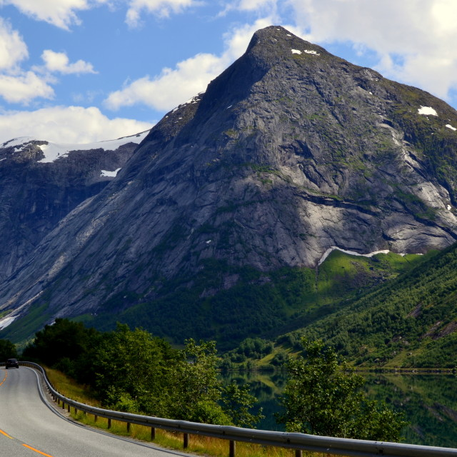 """Road in Norway"" stock image"