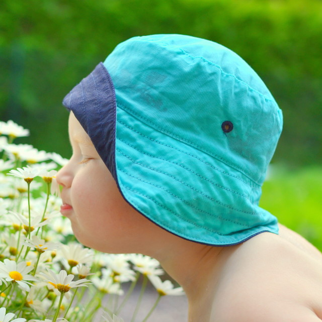 """Flower boy"" stock image"