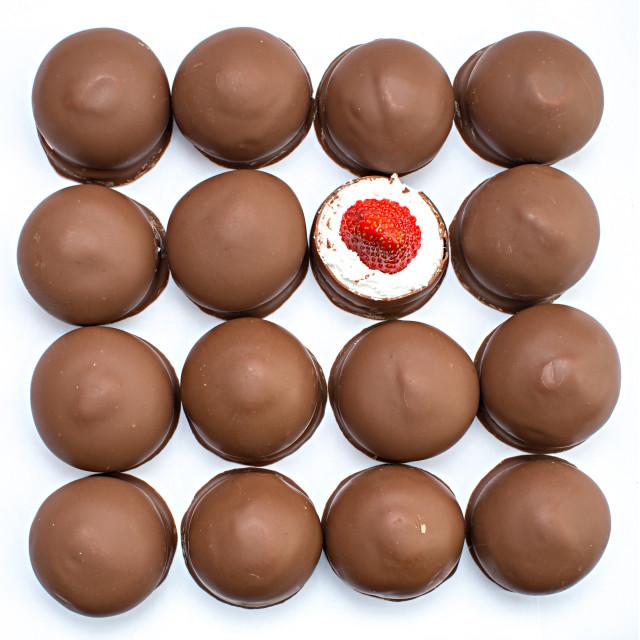 """Mmmm. Marshmallows"" stock image"