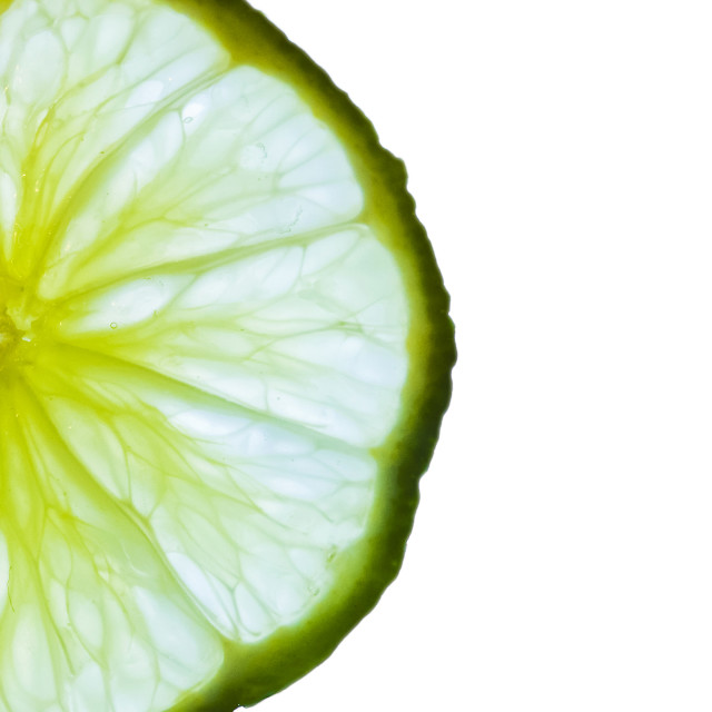 """Slice of Lime"" stock image"