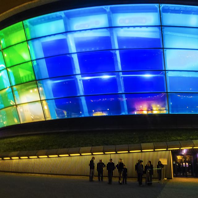 """SSE Hydro Arena, Glasgow."" stock image"
