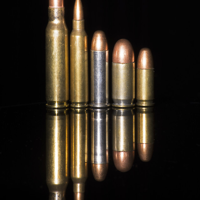 """Bullets"" stock image"