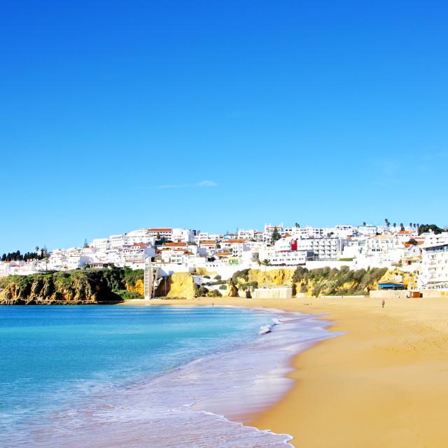 """Albufeira,Algarve region, Portugal"" stock image"