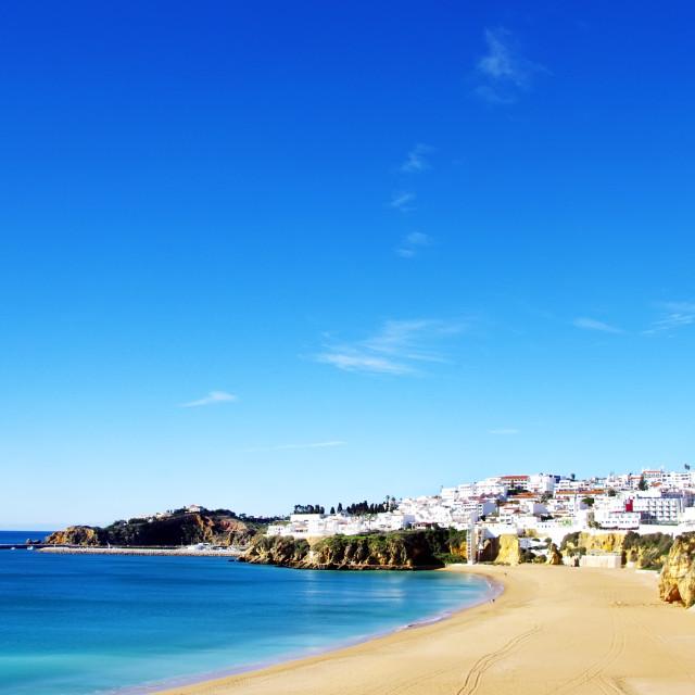 """""""Albufeira, Algarve, Portugal"""" stock image"""