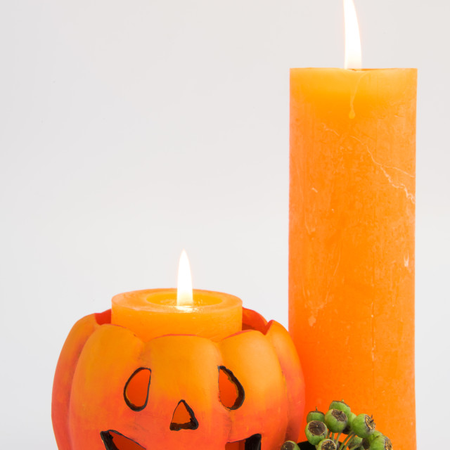 """Halloween Candles"" stock image"