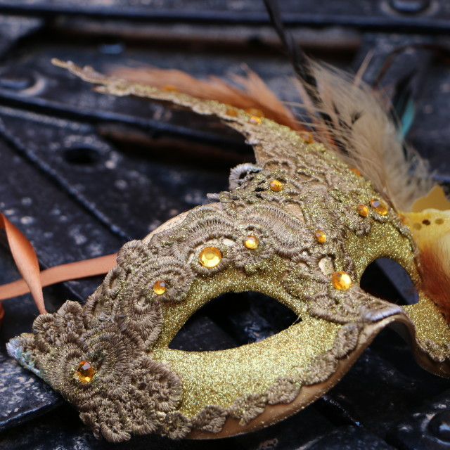 """Carnival in Venice, Italy, Europe, year 2015"" stock image"