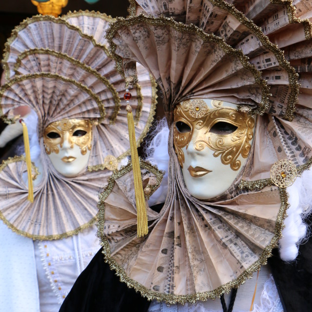 """Carnival in Venice, Italy, year 2015"" stock image"