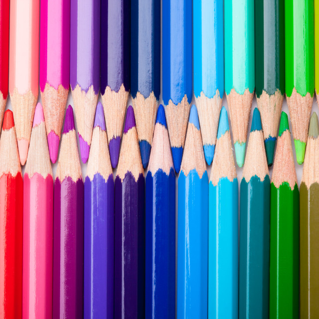 """Colour Pencils"" stock image"