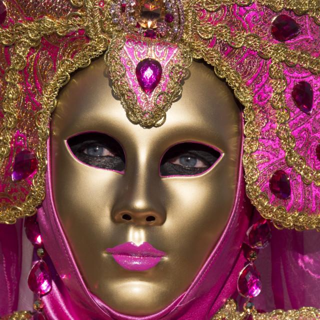 """""""Venice masquerade 3"""" stock image"""