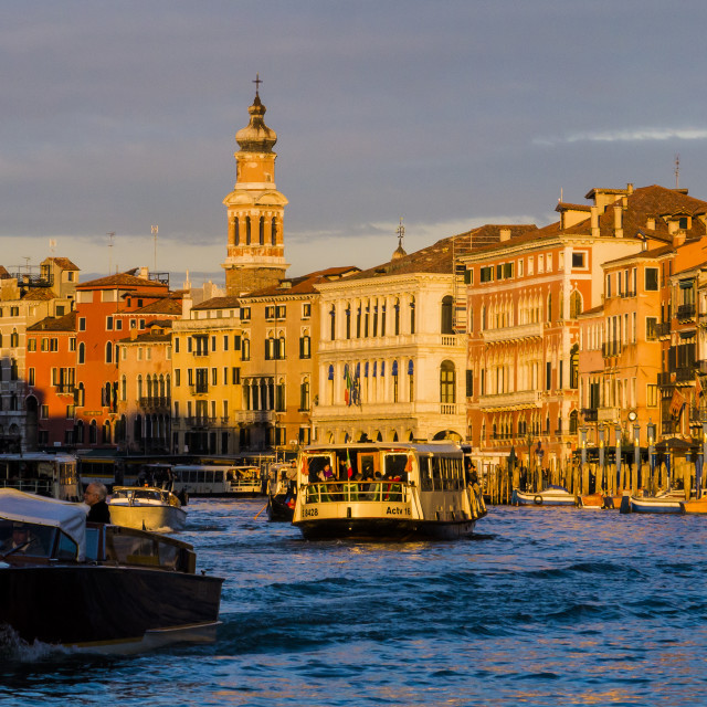 """Venice Grand Canal"" stock image"