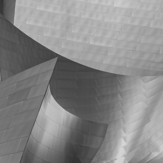 """Walt Disney Concert Hall Los Angeles"" stock image"