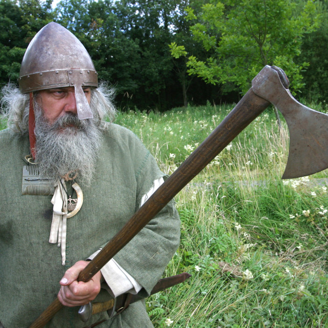 """Old Viking Warrior"" stock image"