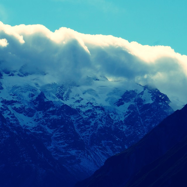 """Mt Cook"" stock image"