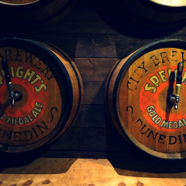 """""""Speights Brewery"""" stock image"""