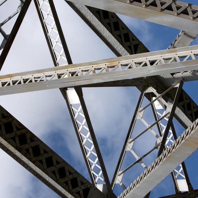 """Construction Bridge"" stock image"