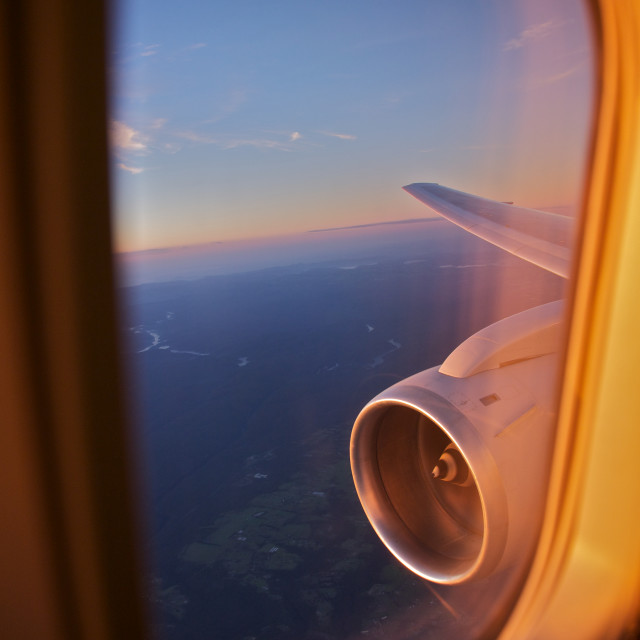 """Flying, Travel"" stock image"