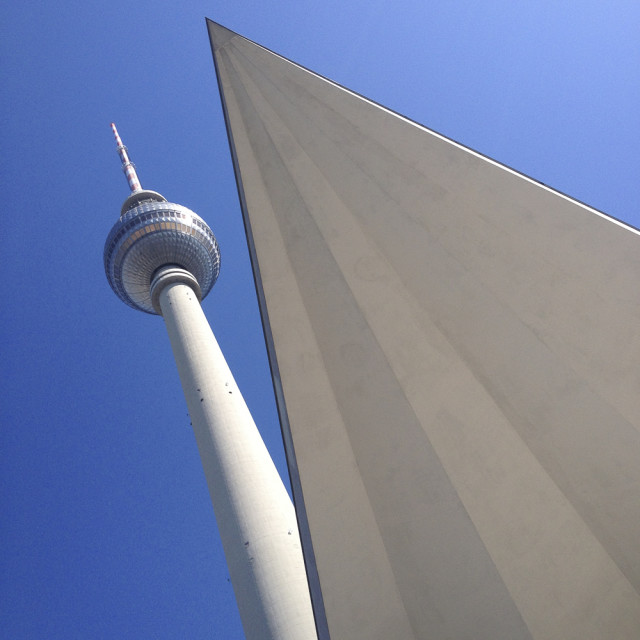 """Television Tower, Berlin, Germany"" stock image"